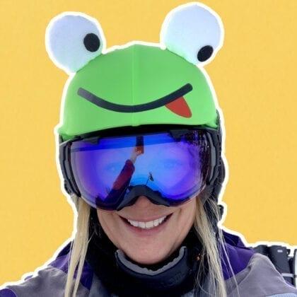 Frog evercover helmet cover