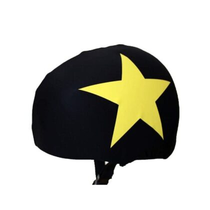 Jammer helmet covers with coloured stars (universal size)