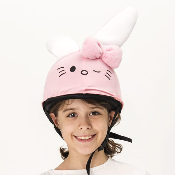 Kitty the bunny helmet cover (junior size) 3