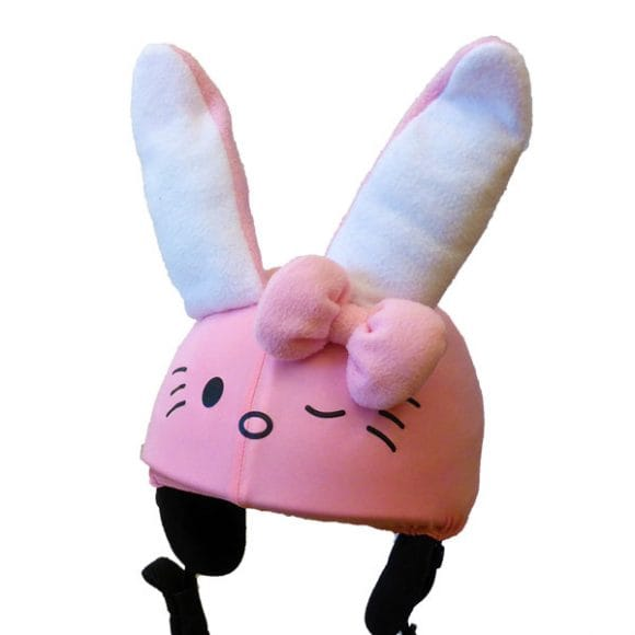 Kitty the bunny helmet cover (junior size)