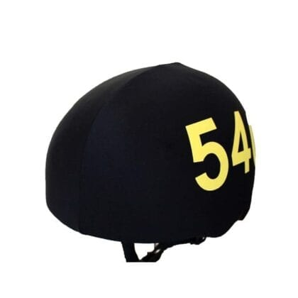 Speed skating helmet covers with numbers (universal size) 1