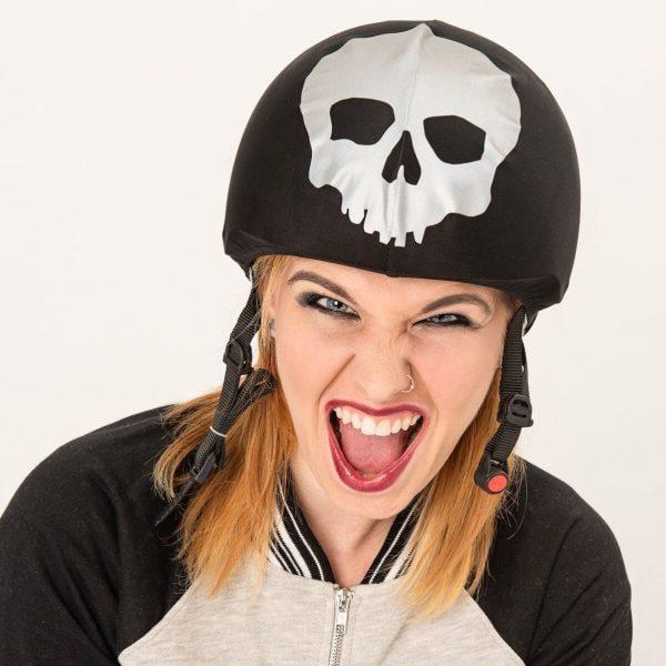 Skull helmet cover (universal size) 5