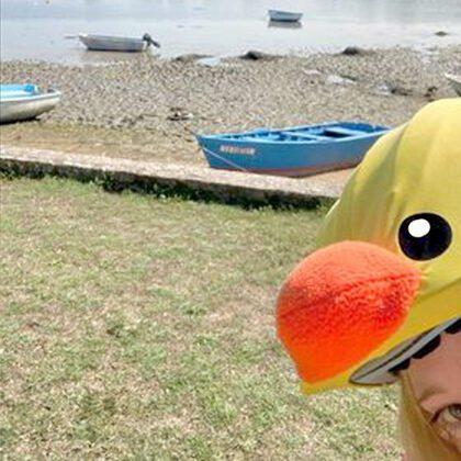 duckling helmet cover