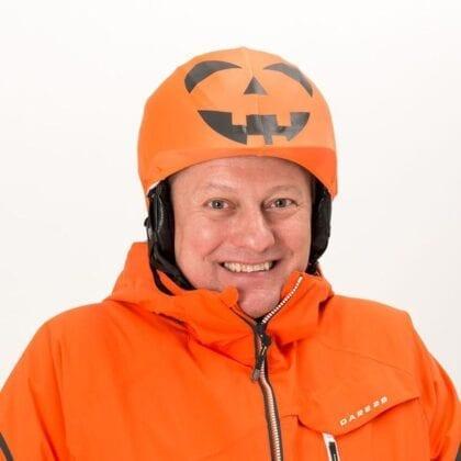 Halloween helmet cover modell