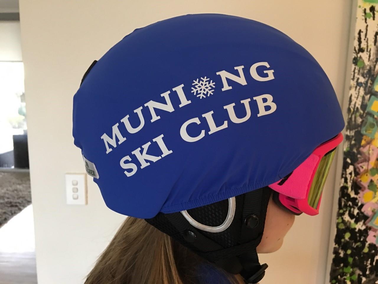 custom helmet cover with logo