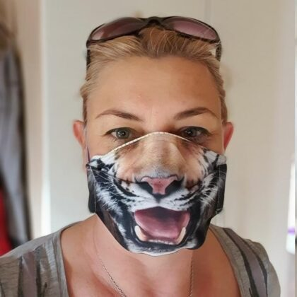 Face mask cover - mascover