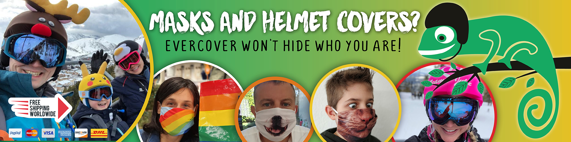 Evercover Funny Personalized And Custom Helmet Covers
