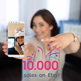 10000 sale on etsy