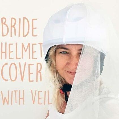 evercover bridal helmet cover